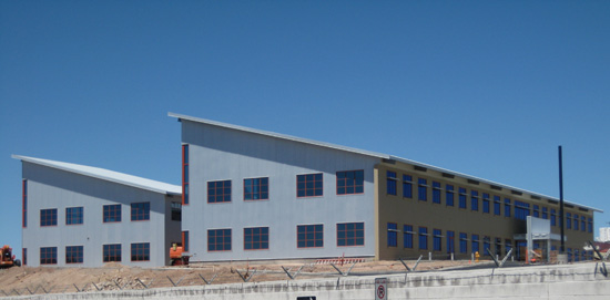 New Bureau of Reclamation Building in Boulder City, NV