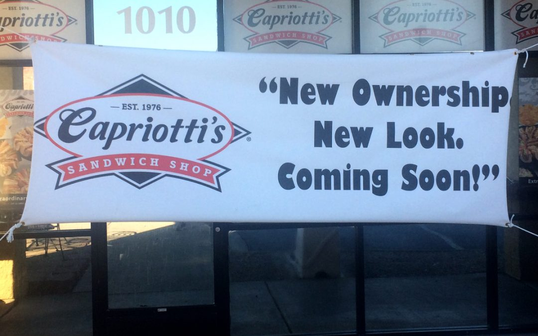 Business Update: Capriotti's is Under New Ownership!