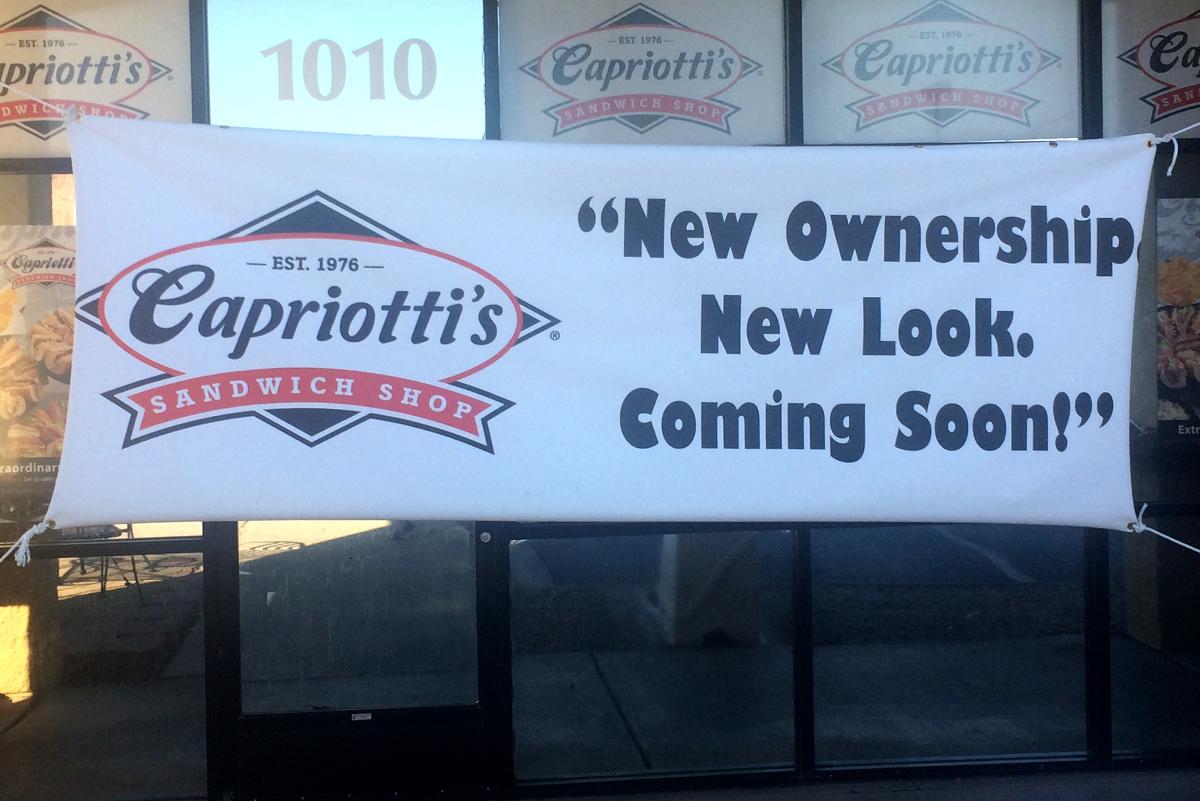 Capriottis Renovations New Ownership Boulder City, NV