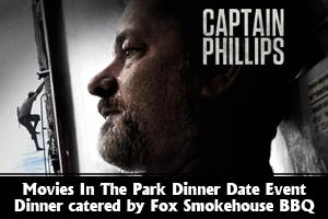 Captain Phillips movie in Boulder City, Nevada