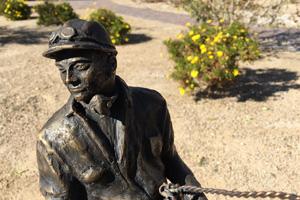Celebration Park Sculpture by Steven Liguori in Boulder City, Nevada