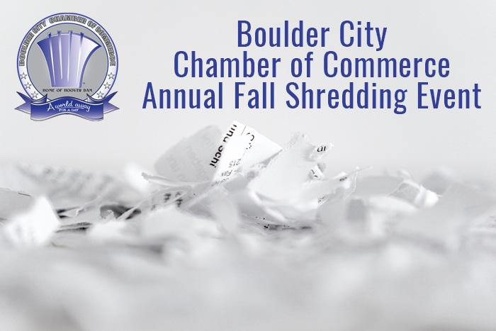 Fall Shredding Event in Boulder City, Nevada