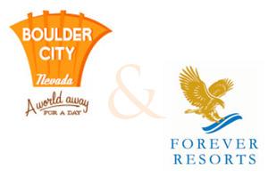 Boulder City Chamber & Forever Resorts Logo