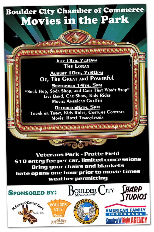 Movies in the Park 2013 in Boulder City, Nevada