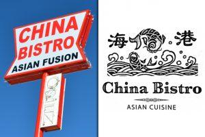 China Bistro Sign in Boulder City, Nevada