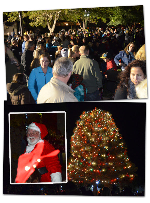 Christmas Tree Lighting 2012 in Boulder City, NV