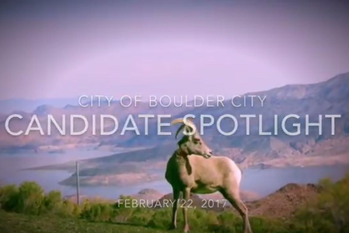 Boulder City, Nevada - City Council Candidate Spotlight Videos