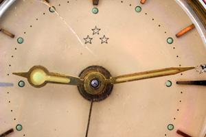 Clock in Boulder City, Nevada
