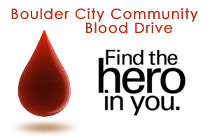 Community Blood Drive in Boulder City, NV
