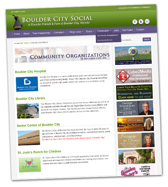 Community Feature in Boulder City, NV