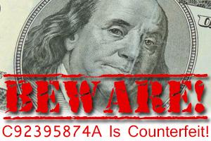 Counterfeit Money in Boulder City, Nevada