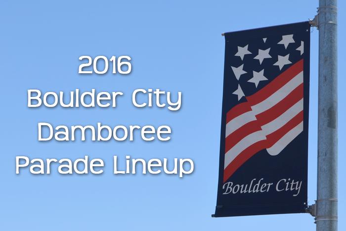 Damboree Parade Lineup 2016