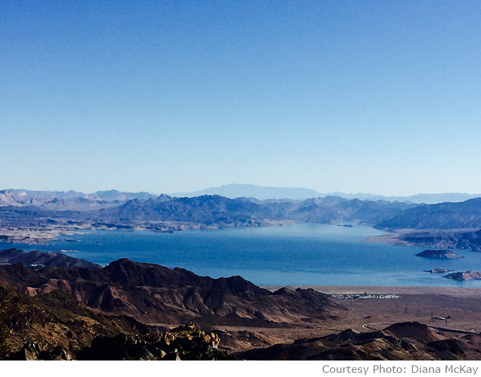 Diana McKay Lake Mead Photo
