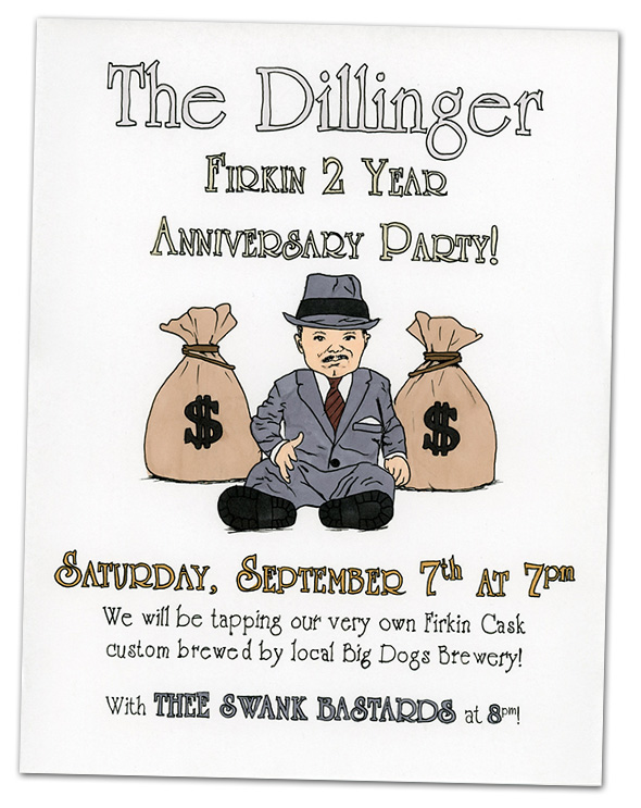 The Dillinger 2nd Anniversary Party in Boulder City, Nevada