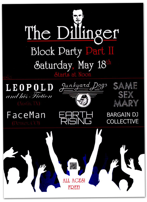 The Dillinger Block Party in Boulder City, Nevada