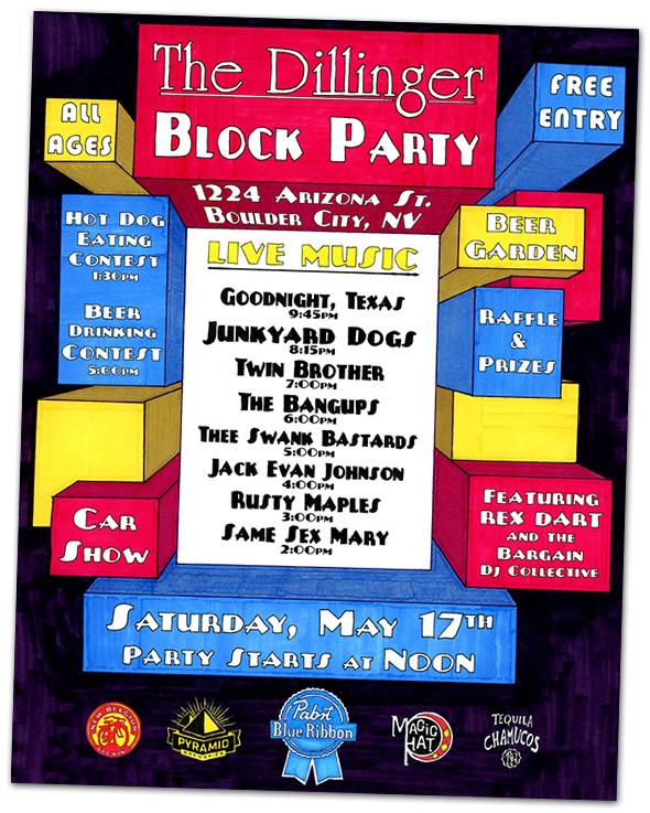 Dillinger Block Party in Boulder City, NV