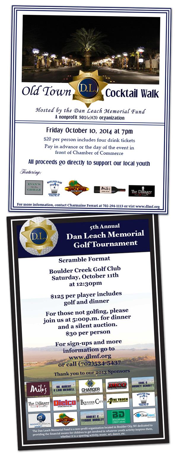 Dan Leach Memorial Fund 2014 Events in Boulder City, Nevada