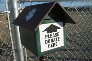 Boulder City Dog Park Donation Box