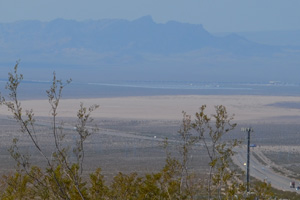 Dry Lake Bed near Boulder City, Nevada