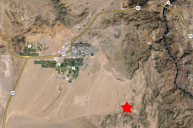 Earthquake in Boulder City, Nevada