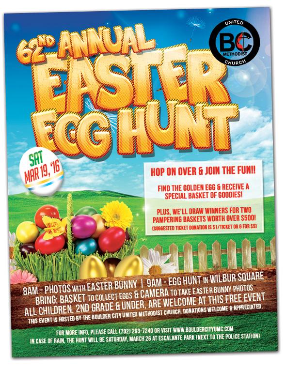 Easter Egg Hunt 2016 in Boulder City, Nevada