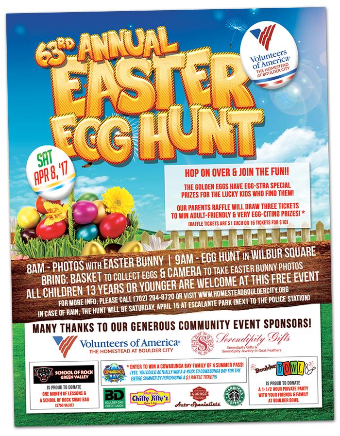 Easter Egg Hunt 2017 in Boulder City, Nevada
