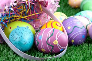 Easter Eggs in Boulder City, NV
