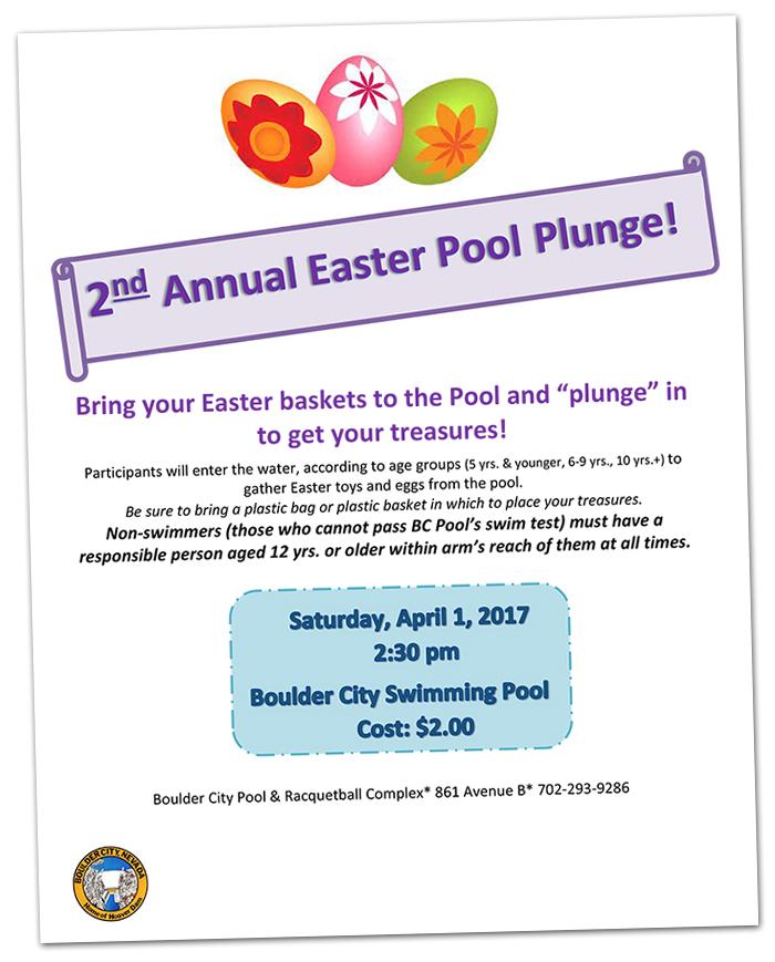 Easter Pool Plunge 2017 in Boulder City, Nevada