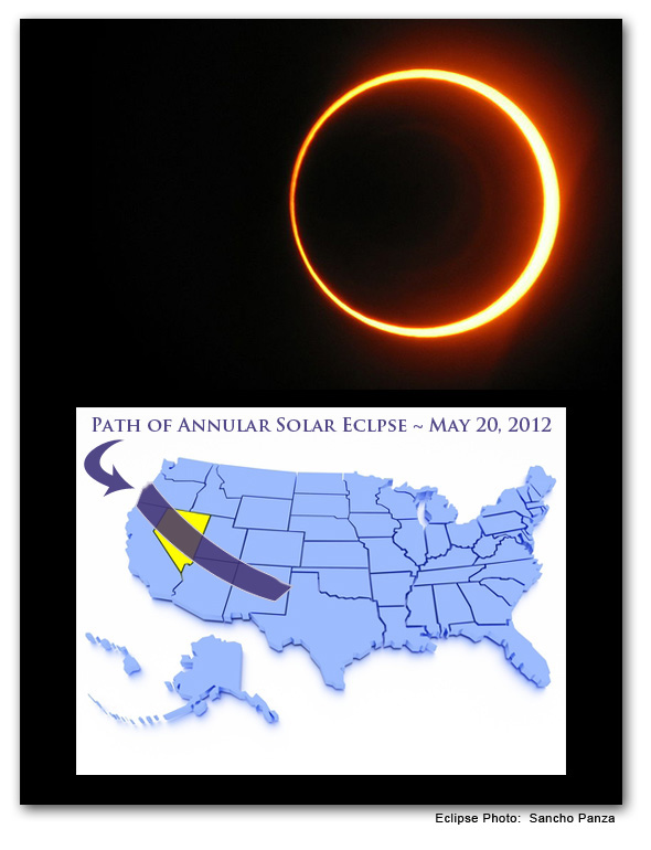Solar Eclipse in Boulder City, NV - May 2012