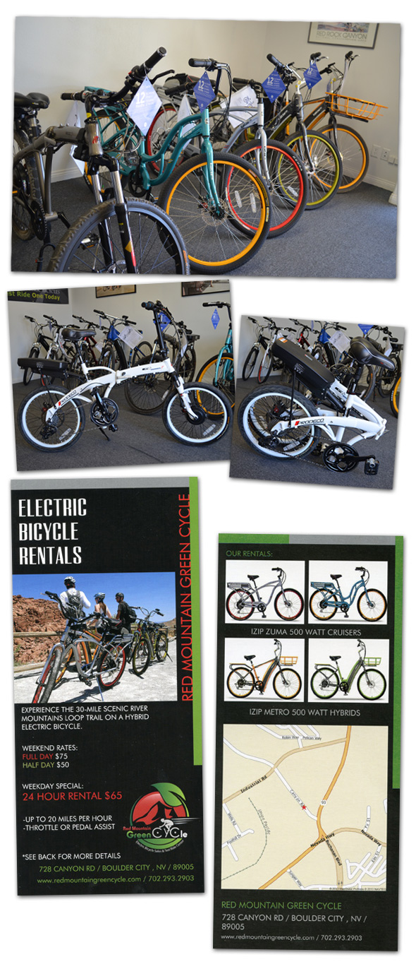 Hybrid Electric Bicycles in Boulder City, Nevada