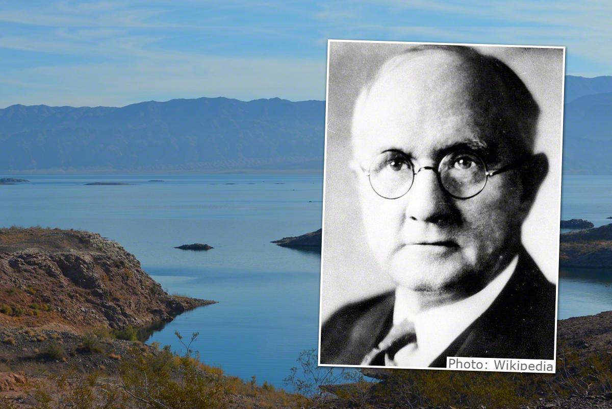 Lake Mead - Namesake of Elwood Mead