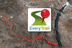 Everytrail Hiking Guides in Boulder City, Nevada
