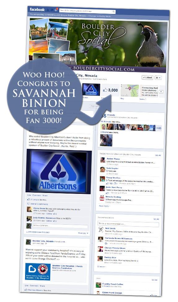 Fan 3000 Savannah Binion