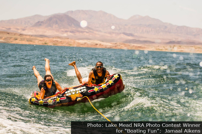 Lake Mead NRA Photo Contest Winner for & Boating Fun - Jamaal Aikens