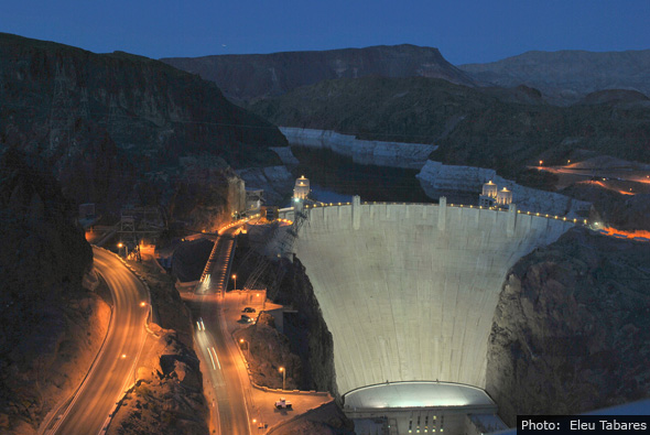 Fan Photo of Hoover Dam by Eleu Tabares