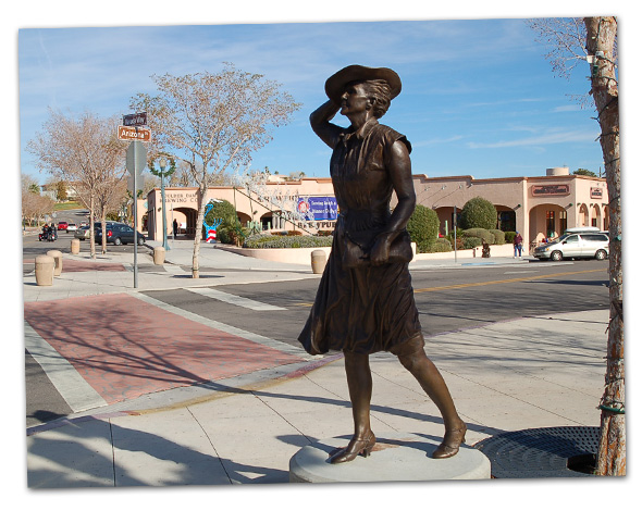 Afternoon Breeze Statue in Boulder City, NV
