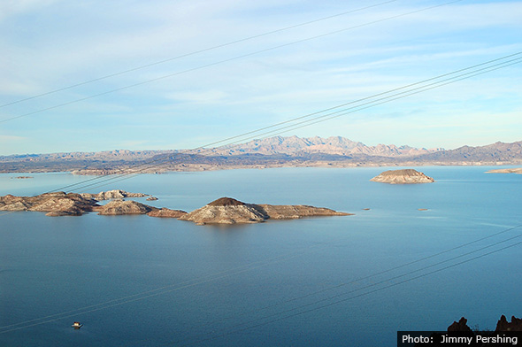 Lake Mead near Boulder City, Nevada by Jimmy Pershing
