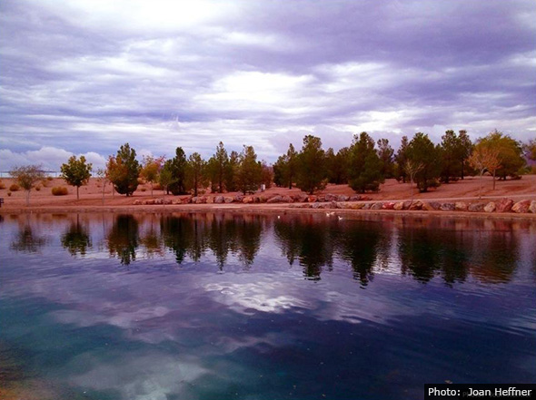 Fan Photo of Boulder City, Nevada by Joan Heffner