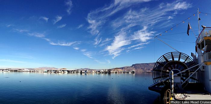 Panoramic of Lake Mead Cruises near Boulder City, Nevada
