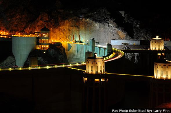 Fan Photo of Hoover Dam near Boulder City, Nevada by Larry Finn