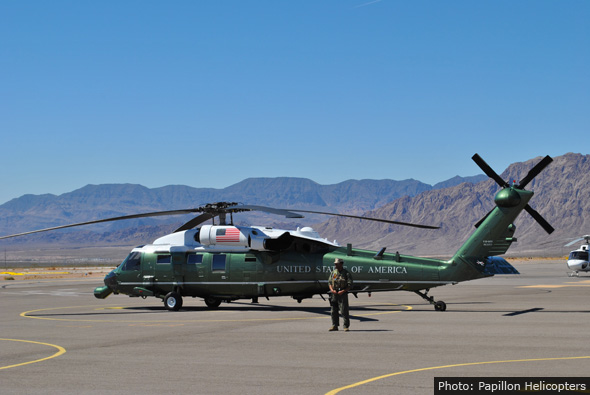 Fan Photo Marine One Papillon Helicopters