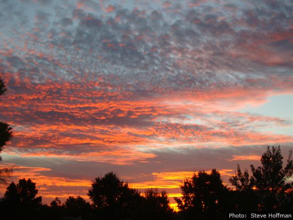 Fan Photo Steve Hoffman Sunrise in Boulder City