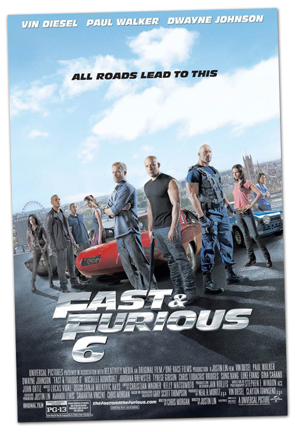 Fast And Furious 6 in Boulder City, Nevada