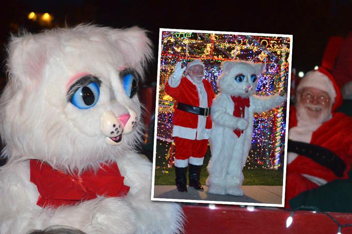 Christmas in October in Boulder City, Nevada