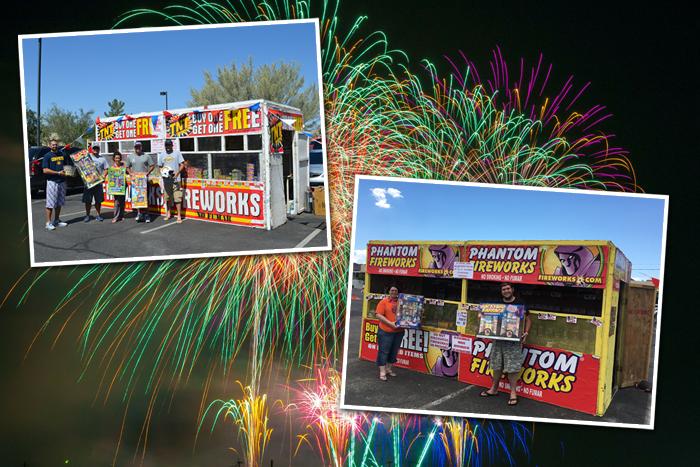 Firework Stands 2016