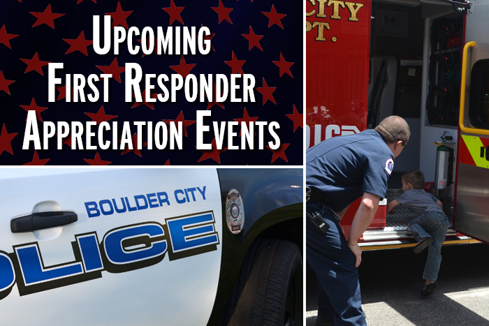First Responder Events in Boulder City, Nevada for 2016