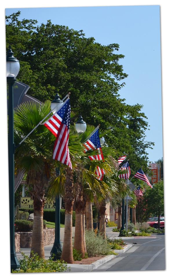 Flag Day in Boulder City, Nevada