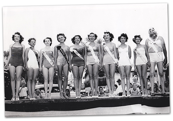 Beauty Contest in Boulder City, Nevada c. 1950