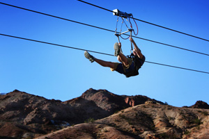 Bootlet Canyon Flightlinez in Boulder City, NV