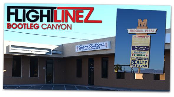 Flightlinez To Marshall Plaza in Boulder City, Nevada